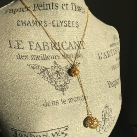 Filigree Ball Necklace