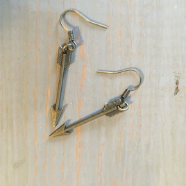 Mini Arrow Earrings