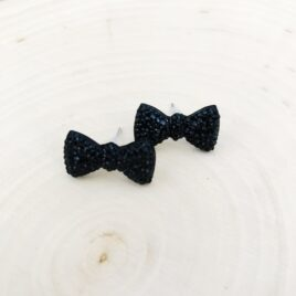 Black Tie Earrings