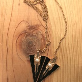 Art Deco Triangle Necklace