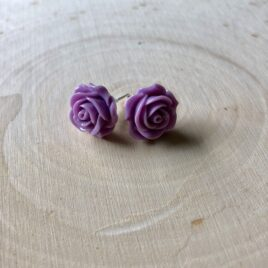 Wisteria Rose Earrings