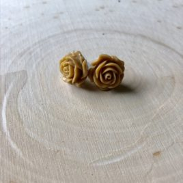 Mocha Rose Earrings