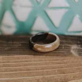 Ziricote Ring (Custom Size)