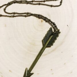 Arrow Necklace (Bronze)