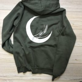 Prairie Goddess Zip Up (Military Green)