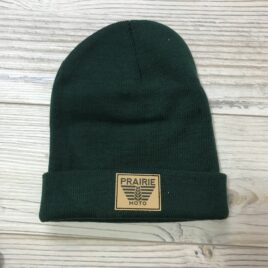 Prairie Moto Toque in Forest Green
