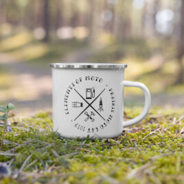 Prairie Moto Elements of Moto Camp Mug