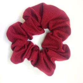Scrunchie in Burgundy